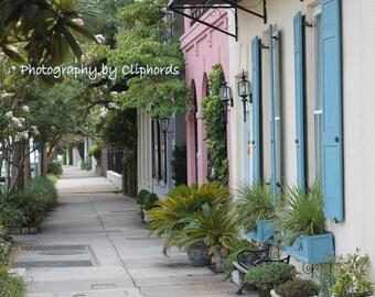 Rainbow Row in Charleston, SC! Digital Download Photography