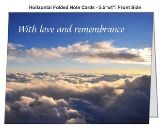 Sympathy Card In the Clouds Photograph
