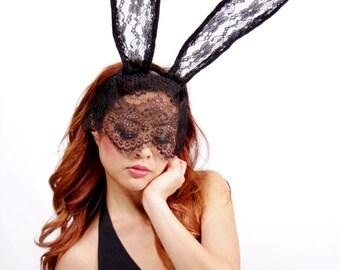 Bunny Veil Wire Headband