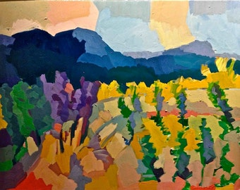 SMALL Limited Edition Prints by Henry Isaacs. 'Orchard, Vermont'