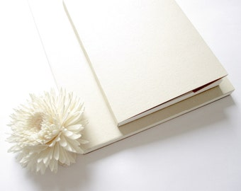 "7.5 x 5.2"" // Medium Cream White Simplicity Eco-Friendly Sketchbook Journal 。 Drawing Sketchbook 。 Blank Notebook 。 Travel Journal"