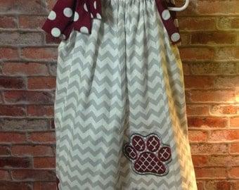 Handmade pillowcase dress