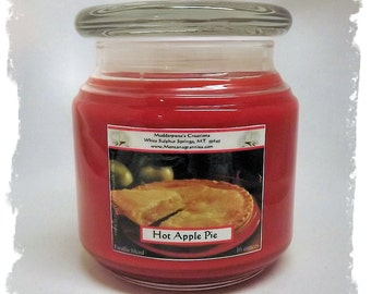 Hot Apple Pie Paraffin Container Candle