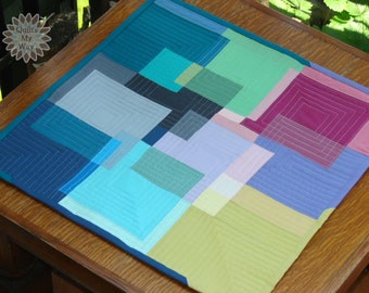 Squares Together Table Topper