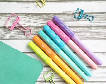 Pastel love Fountain Pen with refills Set