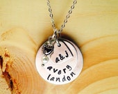 Mommy Jewelry - Layered Necklace - Mom Gift - Grandma Jewelry - Mother Child -Mommy Gift -Personalized Names
