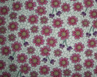 Verona Fabric - Seafoam Floral