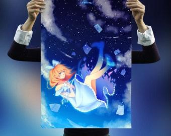 Falling Anime Poster