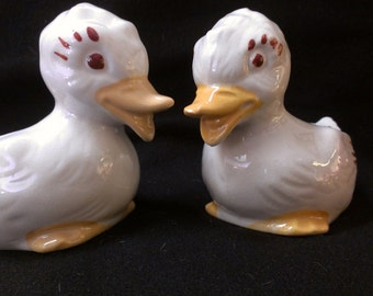 Pair of Duck Planters (404)