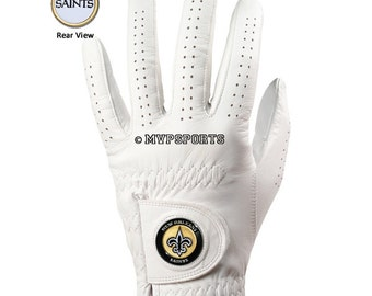 New Orleans Saints Golf Glove & Ball Marker