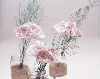 Sola flower centerpieces