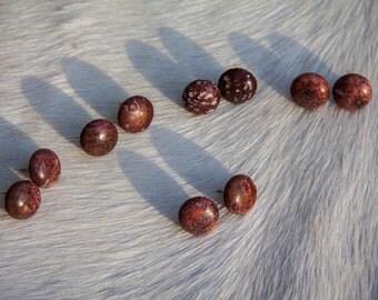 Leopard Skin Jasper Earrings
