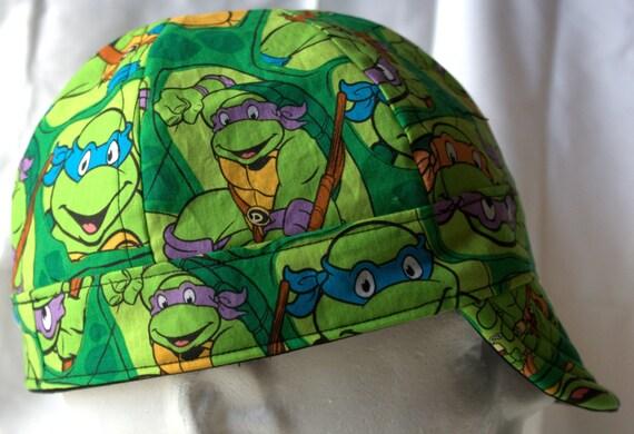 teenage mutant ninja turtles baseball hat turtle items similar welding reversible cap hard liner
