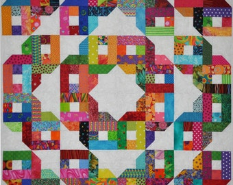 Bedford Mystery 4, by Lessa Siegele this versatile Scrap Quilt Pattern is easy to make and can be cut on an Accuquilt. 2 Sew Textiles