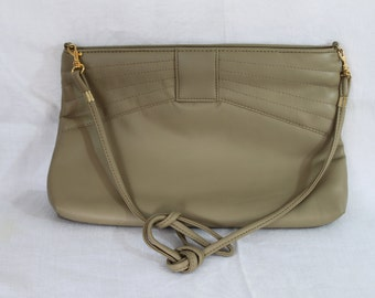 SALE!!  Vintage Taupe Toni Purse with Strap