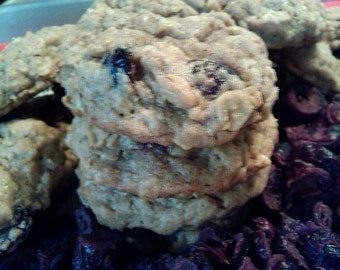 A Pound of Homemade Cranberry Oatmeal Cookies