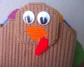 Thanksgiving Turkey Napkin Holder Plastic Canvas Pattern