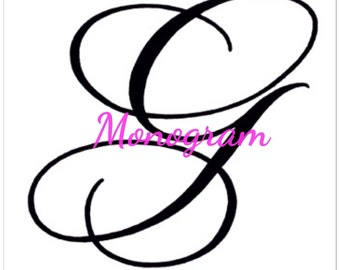 Add monogram
