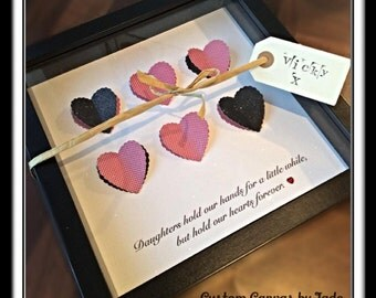 3D heart box frame