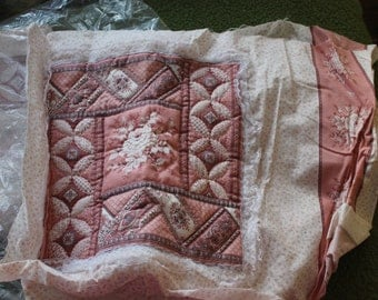 Bag of Quilting Stuff, Squares for Quilting