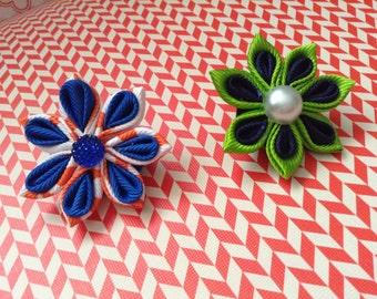Summer color lapel pins