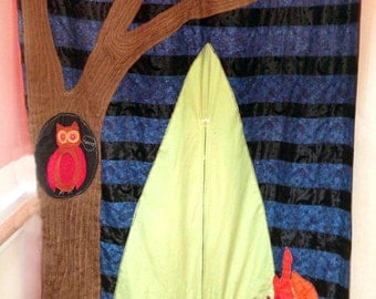 sold- camp theme - doorway puppet theater