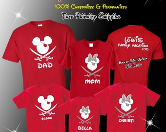 Disney Cruise Shirt, Disney Cruise Shirts, Disney Cruise Family Shirts, Disney Pirate Shirt, Mickey Pirate Cruise Shirt