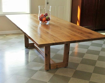 Reclaimed Live-Edge Table