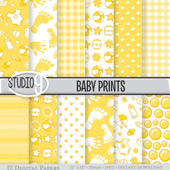 Unisex Baby Backgrounds Items similar t...
