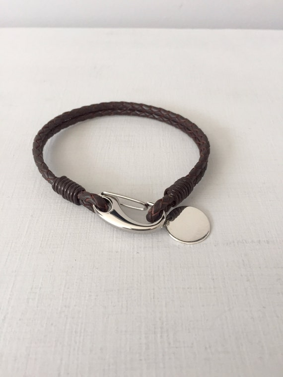 mens bracelet engraved bracelet gift for him by myloveandsoul