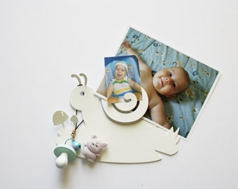 Mini decorations Hook BABY SNAIL