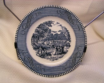 "Royal China Currier & Ives ""Harvest"" Bread and Butter Plate"