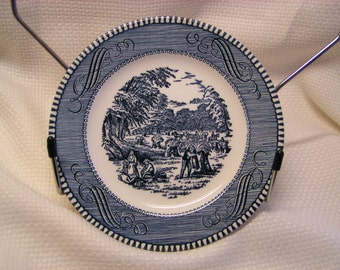 "Currier & Ives ""Harvest"" Bread and Butter Plate by Royal China"