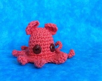 Crochet Dumbo Octopus
