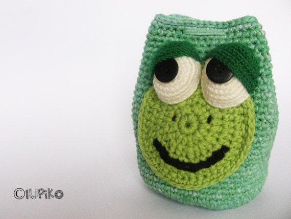 Crochet Little Purse : Kids Purse , Little Girls Purse , Crochet Cotton Purse , Coin Purse ...