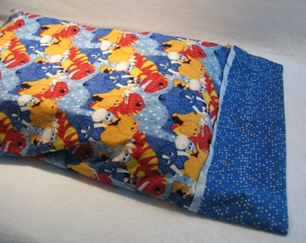 Kid's Colorful Dinosaur Pillow Case