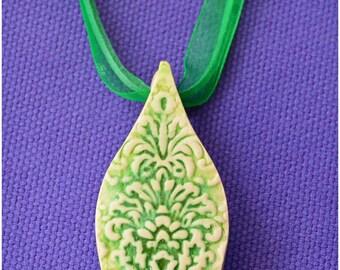 Jewelry - Necklace - Pendant - Ceramic Jewelry - Personalized Jewelry - Birthday Gift