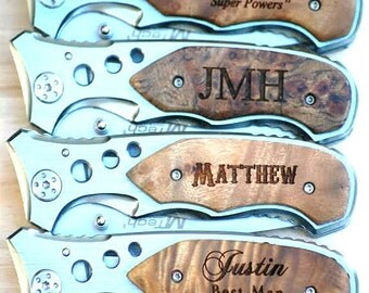 First Fathers Day Gift, Personalized Hunting Pocket Knife, Father's Day Gift, Fathers Day Gifts from Kids, Dad Gift, Father Daughter Gift