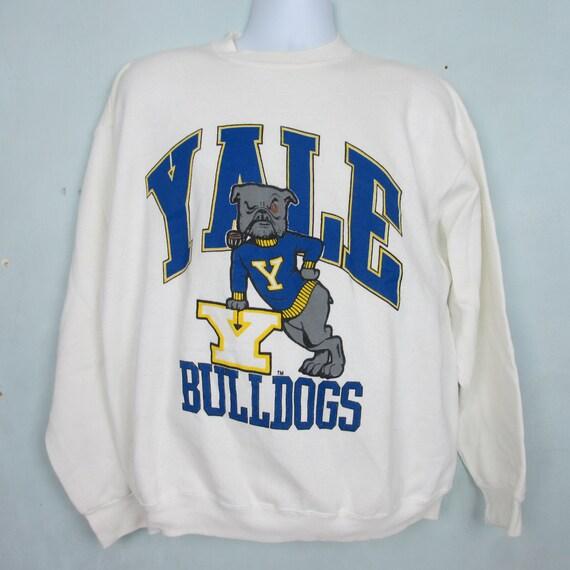 Vintage Yale Bulldogs Crewneck Sweatshirt Xl By