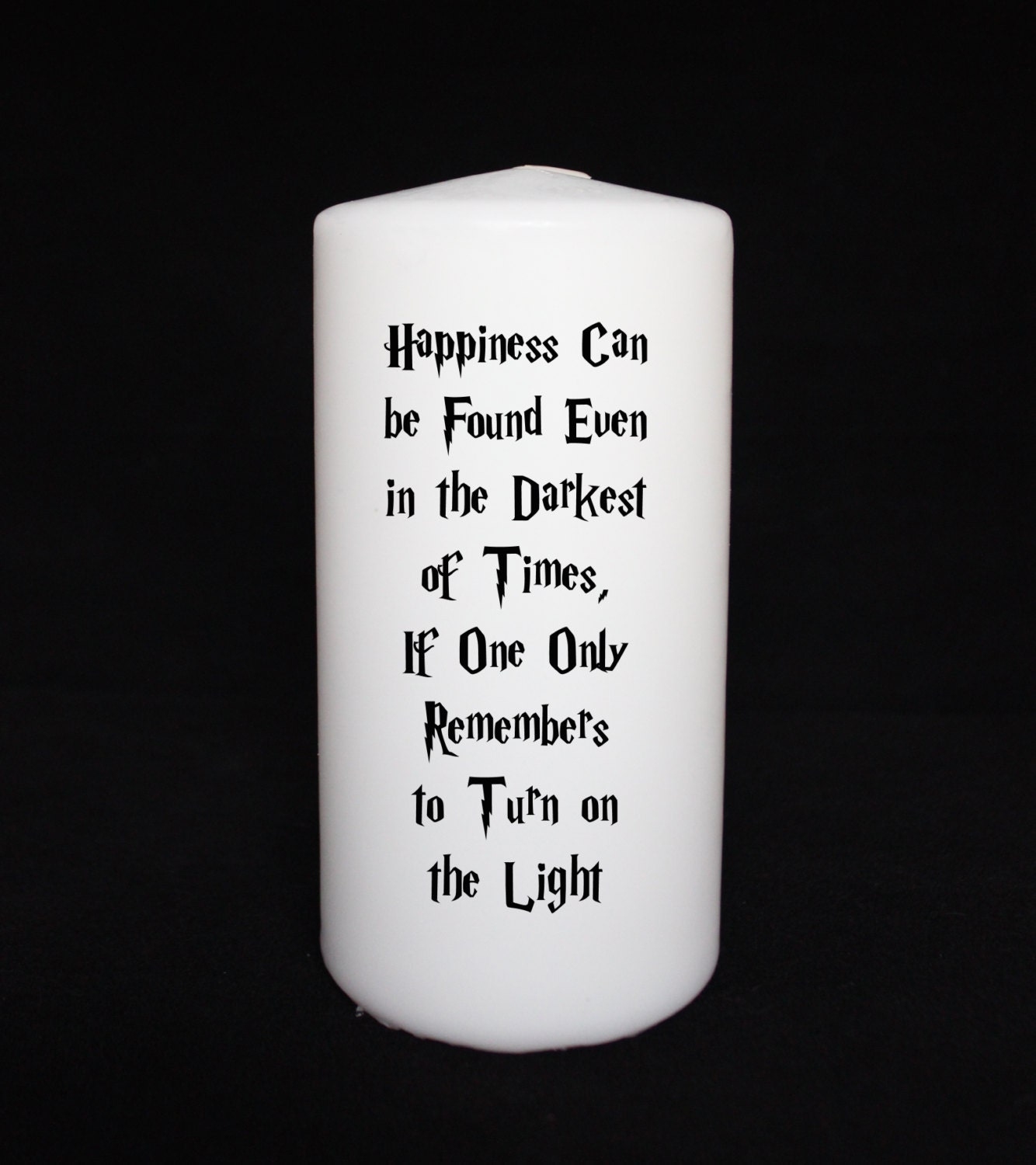 Spine Candle Harry Potter Harry Potter Candle Dumbledore