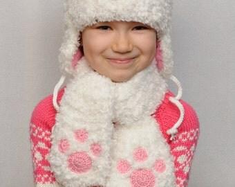 Knit Bear Hat Kids Hats Kids Fall Ear Hat Baby Girl Hats Teddy Bear Beanie Animals Hat Warm Winter Hat gift daughter Bear Hat kids winter