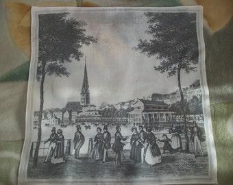 Vintage Doily,White Cotton 100% Print
