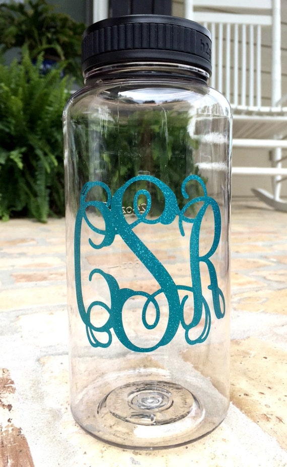 34 ounce Monogrammed Water Bottle