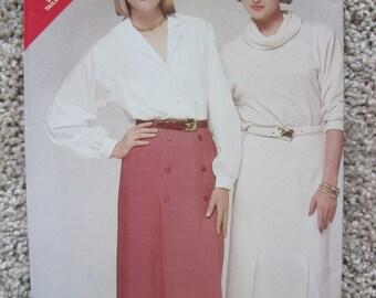 UNCUT Misses Skirt - Butterick Sewing Pattern 5366 - Vintage 1985