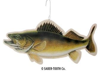 Walleye Fish - Laser Cut Wood Ornament