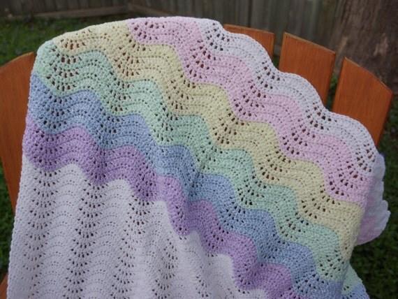 Crochet Blanket Crochet Baby Blanket Rainbow Afghan Lapghan