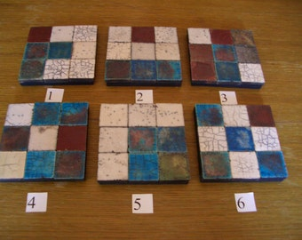 Raku ceramic mat