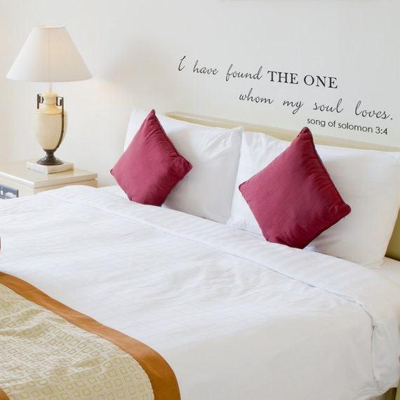 Like this item. Romantic Vinyl Wall Quotes Song Of Solomon Sayings Bedroom