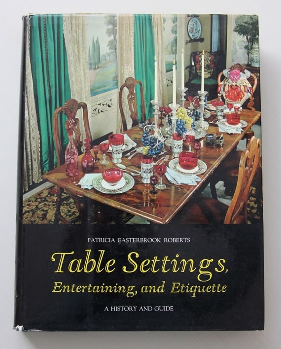 Items Similar To Table Settings Entertaining And Etiquette A