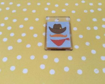 Fun Cowboy  fridge magnet (Free p&p uk)